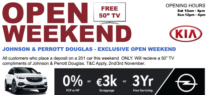 KIA & OPEL - Douglas Open Weekend