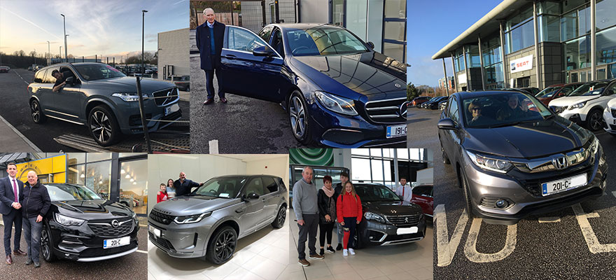 201 Cars heading off with happy customers!