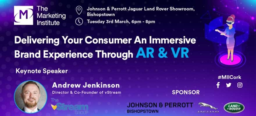 MII Cork Event AR & VR in Our Jaguar Land Rover Showrooms