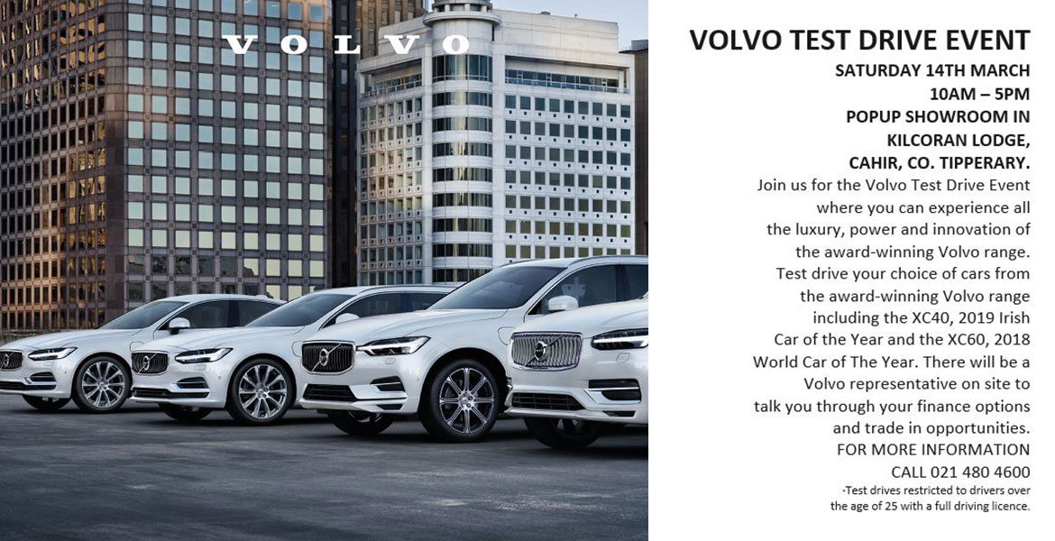 Volvo Test Drive Event Cahir Tipperary